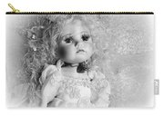 Little Angel In Black And White Carry-all Pouch
