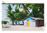 Little Beach Shack Under The Palms Carry-all Pouch