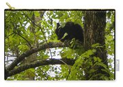 Little Bear Cub In Tree Cades Cove Carry-all Pouch