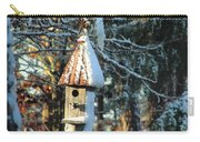 Little Birdhouse In The Woods Carry-all Pouch