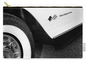 Little Black Corvette Palm Springs Carry-all Pouch