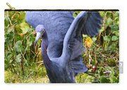 Little Blue Heron Blue Carry-all Pouch