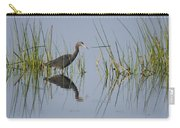Little Blue Heron Wading Texas Carry-all Pouch