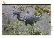 Little Blue Heron - Waiting For Prey Carry-all Pouch