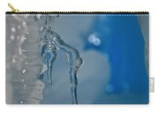 Little Blue Icicle Carry-all Pouch