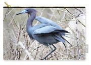 Little Blue In Rookery Louisiana Carry-all Pouch