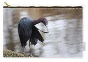 Little Blue Preening Carry-all Pouch