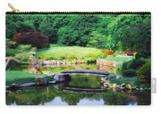 Little Bridge In The Japanese Garden Carry-all Pouch