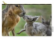 Little Cavy With Mother Carry-all Pouch