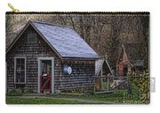 Little Cedar Shake Building Carry-all Pouch