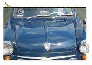 Little Cute  Blue Vintage Princess Austin Car  Carry-all Pouch