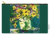 Little Daisies Carry-all Pouch by Sherry Harradence