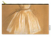 Little Dancer Carry-all Pouch by Edgar Degas