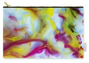 Little Dragon Watercolor Abstract Painting Carry-all Pouch
