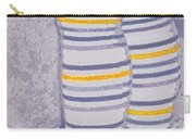 Little Feet-yellow Carry-all Pouch