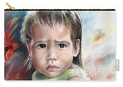 Little Girl From Tahiti Carry-all Pouch