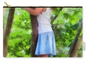 Little Girl Playing In Tree Carry-all Pouch