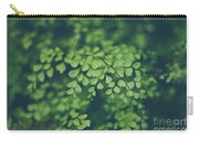 Little Green Leaves Carry-all Pouch
