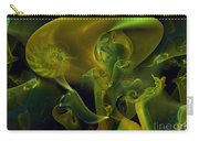 Little Green Seahorse  Carry-all Pouch