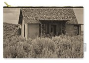 Little House In The Sage Bw Carry-all Pouch