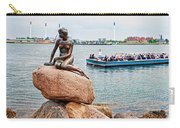 Little Mermaid Statue With Tourboat Carry-all Pouch