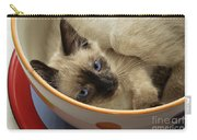 Little Miss Blue Eyes Carry-all Pouch by Andee Design