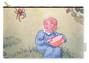 Little Miss Muffet Carry-all Pouch by Leonard Leslie Brooke