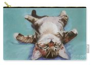 Little Napper  Carry-all Pouch by Pat Saunders-White