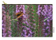 Little Orange And Black Butterfly Carry-all Pouch