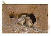Little Owl Athene Noctua  Carry-all Pouch