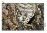 Little Owl In Hollow Tree Carry-all Pouch