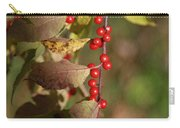 Little Red Berries Carry-all Pouch