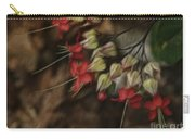 Little Red Flowers Carry-all Pouch