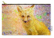 Little Red Fox Carry-all Pouch