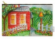 Little Red Schoolhouse Carry-all Pouch