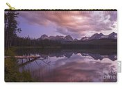 Little Redfish Lake Sunset Stanley Idaho Carry-all Pouch