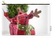 Little Reindeer Christmas Card Carry-all Pouch