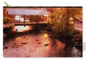 Little River Bridge At Sunset Gatlinburg Carry-all Pouch