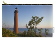 Little Sable Lighthouse By The Shore Carry-all Pouch