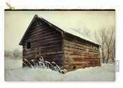 Little Shed Carry-all Pouch by Julie Hamilton