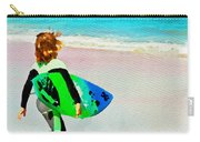 Little Surfer Dude Carry-all Pouch