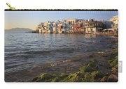 Little Venice At Sunset Mykonos Town Cyclades Greece  Carry-all Pouch
