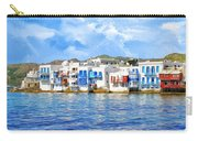 Little Venice On Mykonos Carry-all Pouch