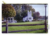 Little Village Chapel Of The Immanuel Lutheran Church Carry-all Pouch