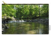 Little Waterfall At Green Lane Pa. Carry-all Pouch