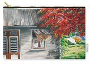 Little West Indian House 1 Carry-all Pouch