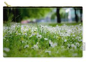 Little White Flowers II Carry-all Pouch