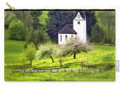 Little White German Church Carry-all Pouch