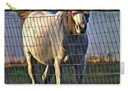 Little White Pony Carry-all Pouch