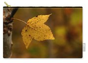 Little Yellow Leaf Carry-all Pouch
